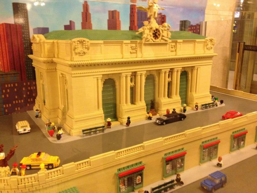 Lego replica of Grand Central